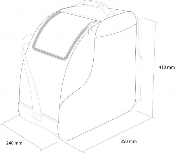 Husa clapari Rossignol TACTIC BOOT BAG 8