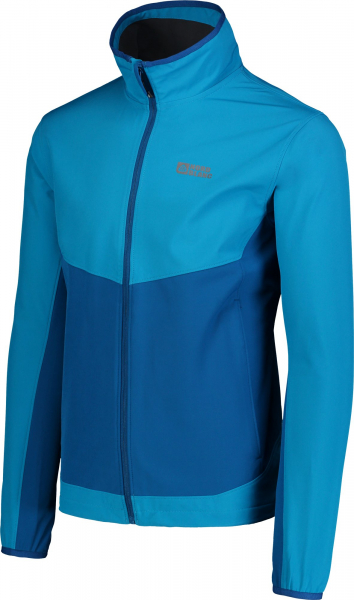 Jacheta barbati Nordblanc CALL MEMBRANE Light softshell Azure blue 1