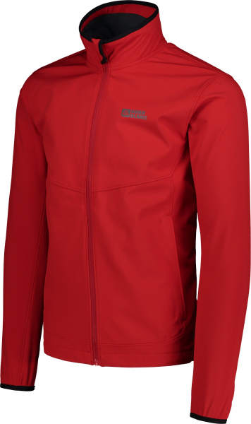 Jacheta barbati Nordblanc CALL MEMBRANE Light softshell Dark red 1