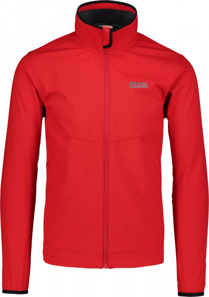 Jacheta barbati Nordblanc CALL MEMBRANE Light softshell Dark red 0