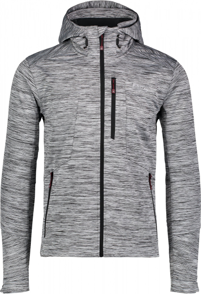 Jacheta barbati Nordblanc GNARLY MEMBRANE Light softshell Light grey melange 0