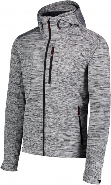 Jacheta barbati Nordblanc GNARLY MEMBRANE Light softshell Light grey melange 1