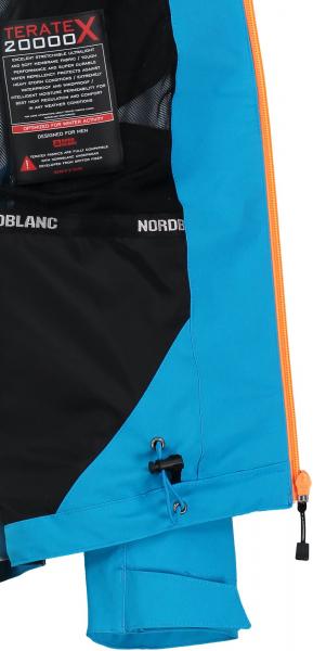 Jacheta barbati Nordblanc AGG PERFORMANCE 2.0 Layer Blue effect 3