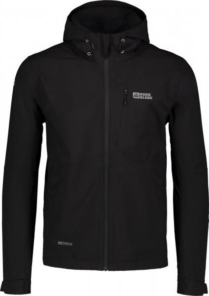 Jacheta barbati Nordblanc UNEVEN Light softshell 3LL 4X4 Str Black 0