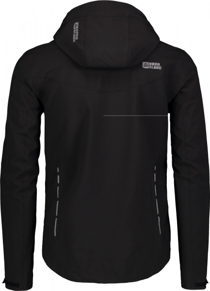 Jacheta barbati Nordblanc UNEVEN Light softshell 3LL 4X4 Str Black 2