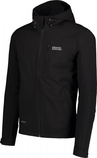 Jacheta barbati Nordblanc UNEVEN Light softshell 3LL 4X4 Str Black 1