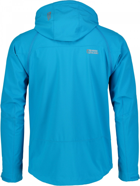 Jacheta barbati Nordblanc ODIN 2 IN 1 Membrane Light softshell Azure blue 2