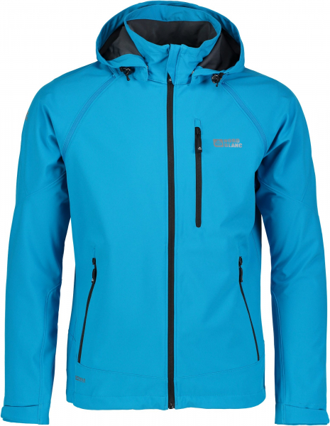 Jacheta barbati Nordblanc ODIN 2 IN 1 Membrane Light softshell Azure blue 0