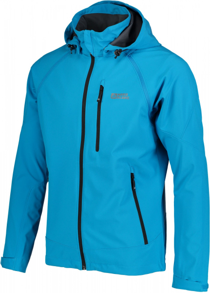 Jacheta barbati Nordblanc ODIN 2 IN 1 Membrane Light softshell Azure blue 1