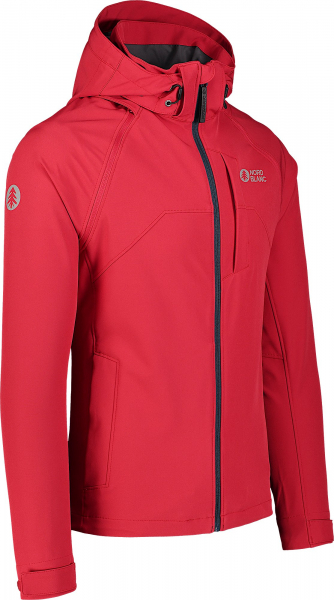 Jacheta barbati Nordblanc WISE light softshell 2in1 Popular red 5