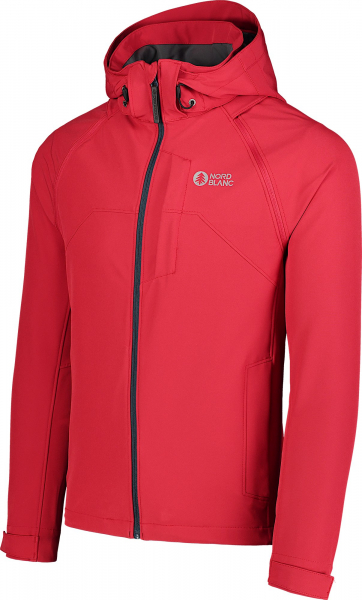 Jacheta barbati Nordblanc WISE light softshell 2in1 Popular red 4