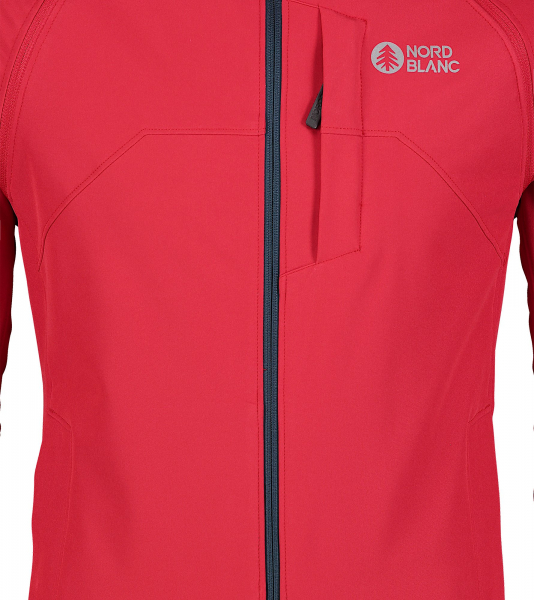Jacheta barbati Nordblanc WISE light softshell 2in1 Popular red 3