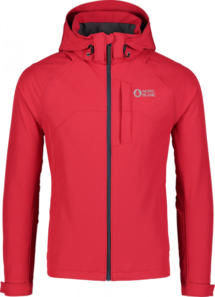 Jacheta barbati Nordblanc WISE light softshell 2in1 Popular red 0