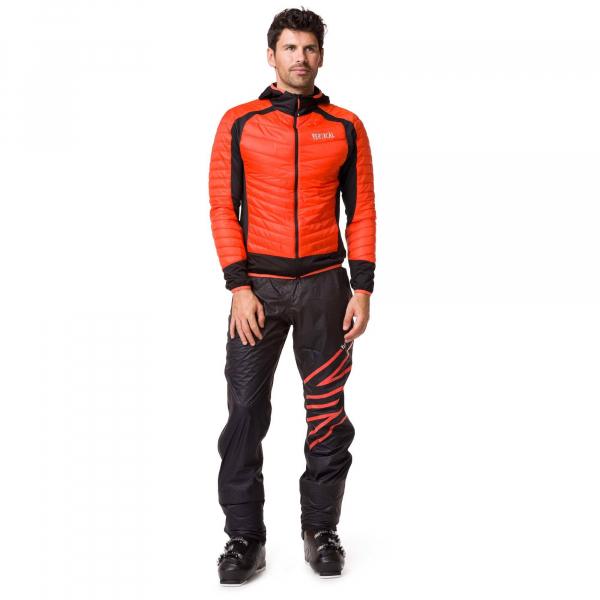 Jacheta barbati Vertical AEROQUEST HYBRID Orange black 2