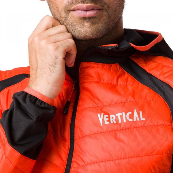 Jacheta barbati Vertical AEROQUEST HYBRID Orange black 3
