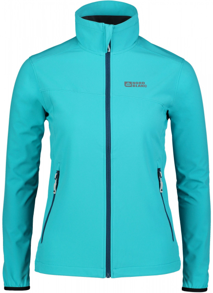 Jacheta dama Nordblanc ALTER light softshell 3LL 4X4 Str Pool blue 0