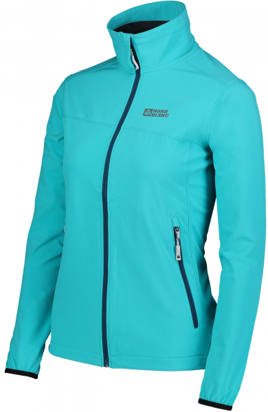 Jacheta dama Nordblanc ALTER light softshell 3LL 4X4 Str Pool blue 2