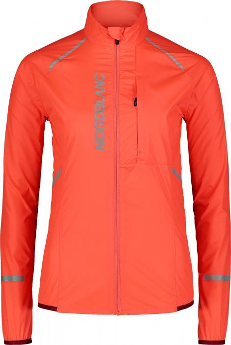 Jacheta dama Nordblanc BARRIER Bike ultra light fiery coral [0]