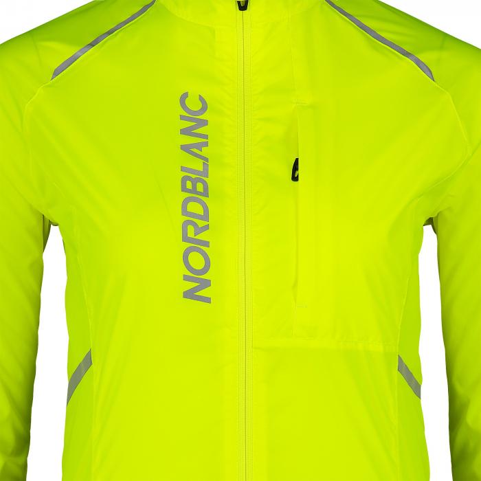 Jacheta dama Nordblanc BARRIER Bike ultra light safety yellow [4]