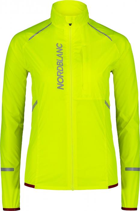 Jacheta dama Nordblanc BARRIER Bike ultra light safety yellow [0]