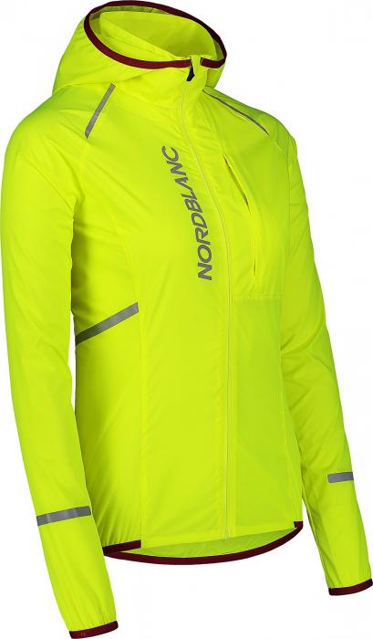 Jacheta dama Nordblanc FLEET Bike ultra light safety yellow [1]