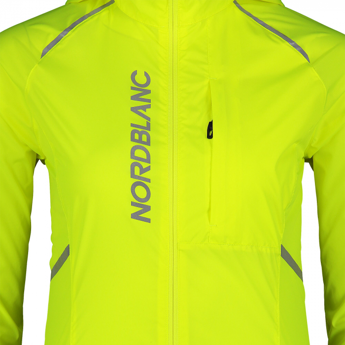 Jacheta dama Nordblanc FLEET Bike ultra light safety yellow [4]