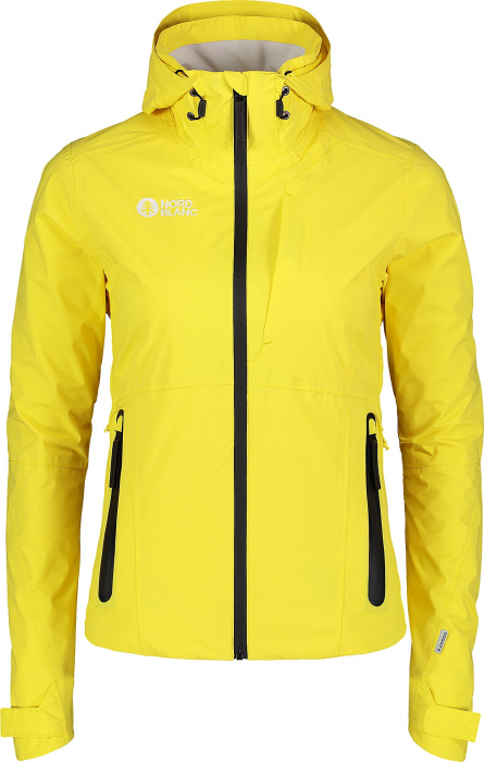 Jacheta dama Nordblanc GEOGRAPHICAL outdoor yellow [0]
