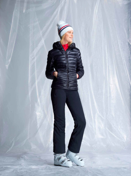 Jacheta dama Rossignol W LIGHT DOWN HOOD Black 3