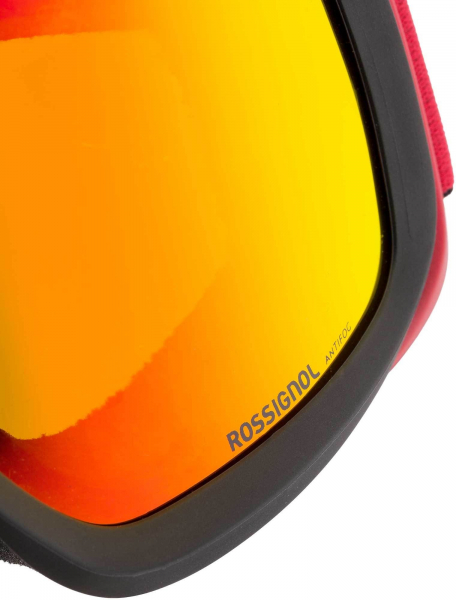 Ochelari schi Rossignol ACE HP MIRROR BLACK/RED - CYL 5