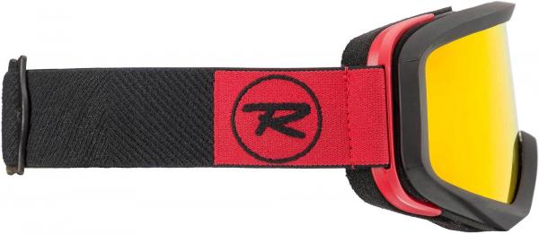 Ochelari schi Rossignol ACE HP MIRROR BLACK/RED - CYL 3