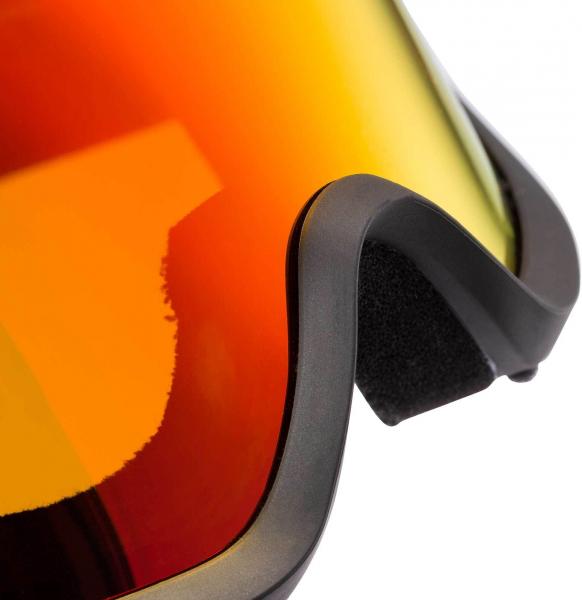 Ochelari schi Rossignol ACE HP MIRROR BLACK/RED - CYL 4