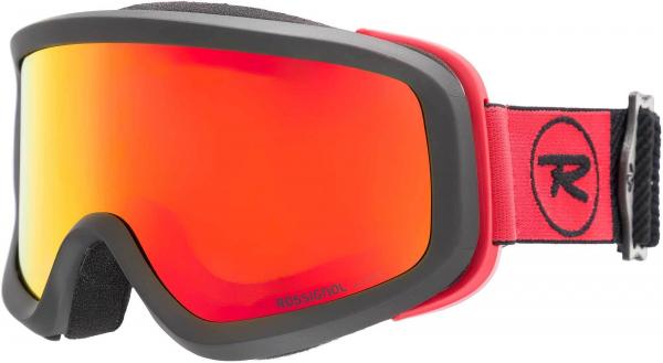 Ochelari schi Rossignol ACE HP MIRROR BLACK/RED - CYL 0