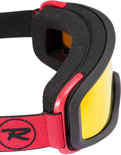 Ochelari schi Rossignol ACE HP MIRROR BLACK/RED - CYL 1