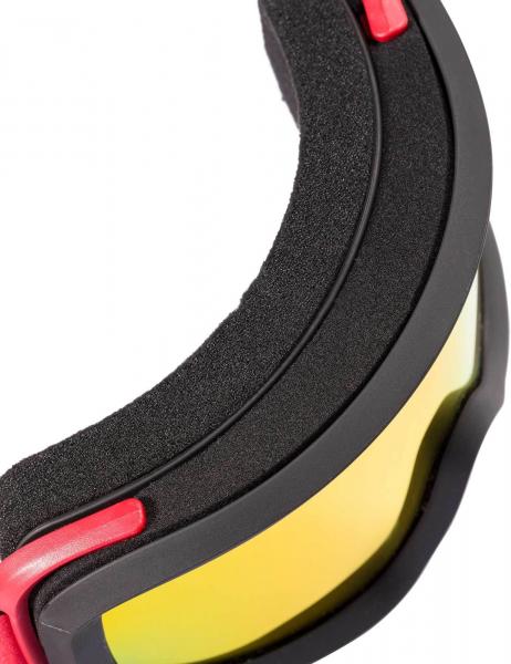 Ochelari schi Rossignol ACE HP MIRROR BLACK/RED - CYL 2
