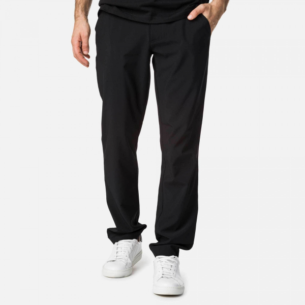 Pantaloni barbati Rossignol CHINOS TECH Black 3