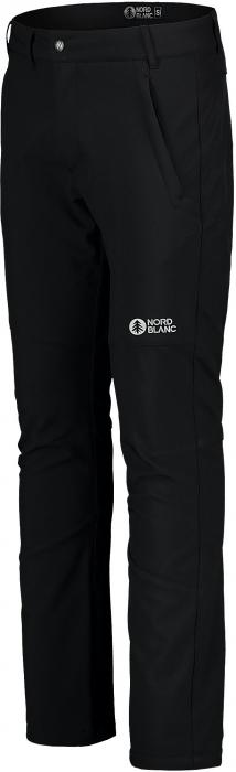 Pantaloni barbati Nordblanc STABILIZE light softshell black [2]