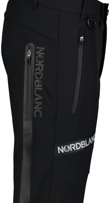 Pantaloni barbati Nordblanc STERN softshell black [4]