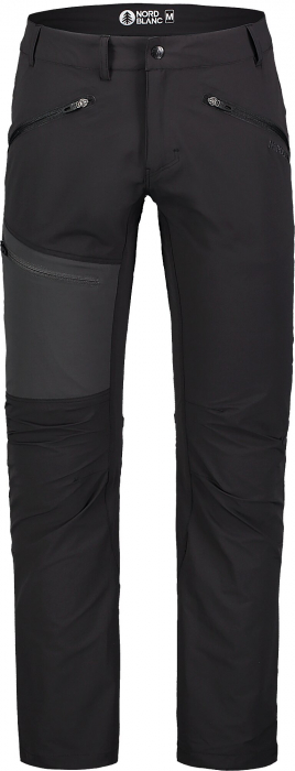 Pantaloni barbati Nordblanc TRAVELER outdoor black [2]
