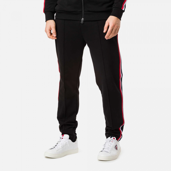 Pantaloni barbati Rossignol TRACK SUIT SWEAT Black 1