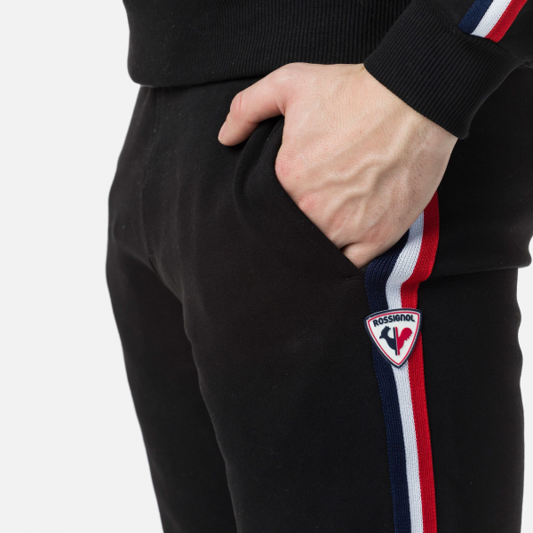 Pantaloni barbati Rossignol STRIPES SWEAT Black 2
