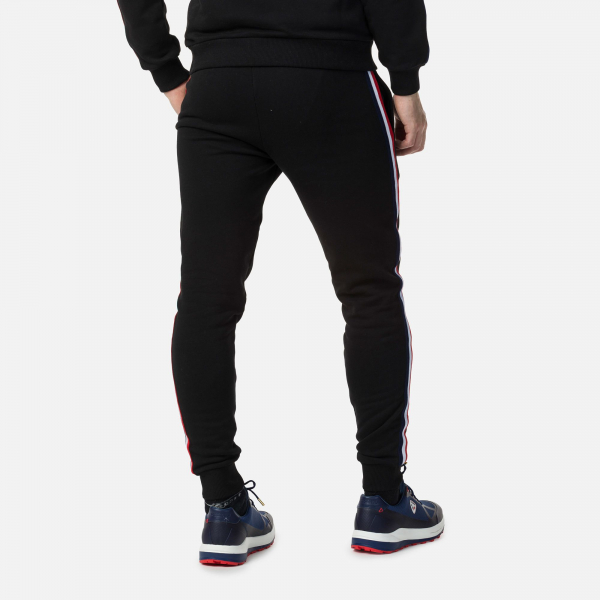 Pantaloni barbati Rossignol STRIPES SWEAT Black 1