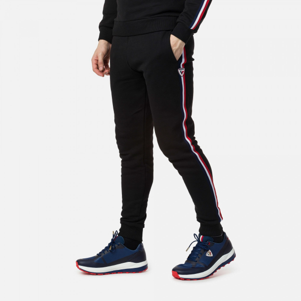 Pantaloni barbati Rossignol STRIPES SWEAT Black 0