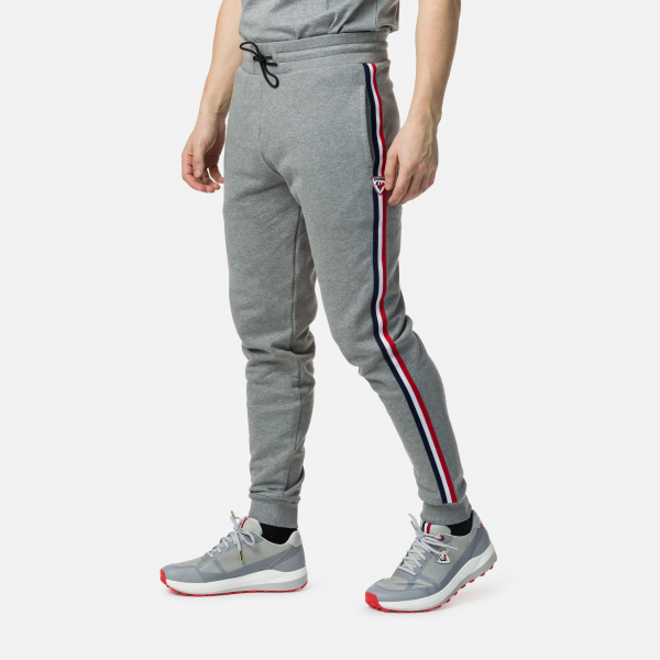 Pantaloni barbati Rossignol STRIPES SWEAT Heather grey 0