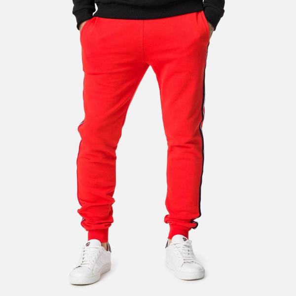 Pantaloni barbati Rossignol STRIPES SWEAT Neon red 3