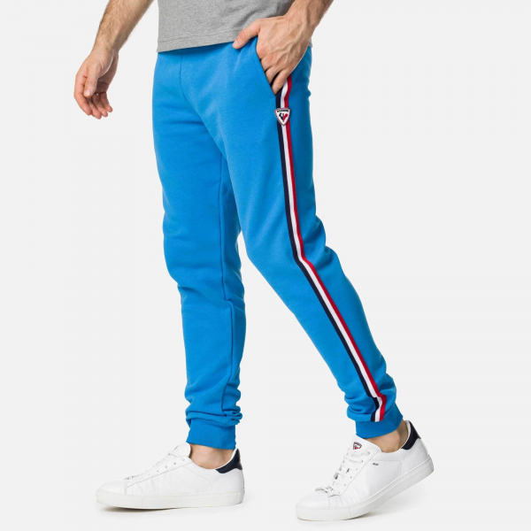 Pantaloni barbati Rossignol STRIPES SWEAT Royal blue 3