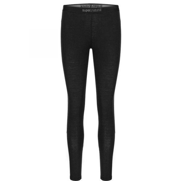 Pantaloni de corp dama SN super.natural W Base tight 175 Jet Black 1