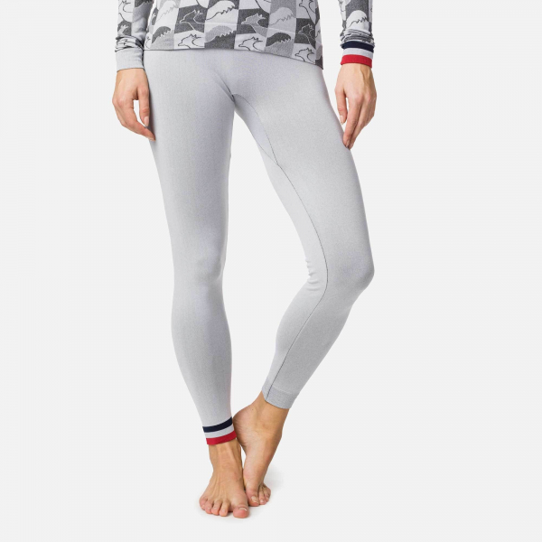 Pantaloni first layer dama Rossignol W DROITE UNDERWEAR TIGHT Light grey 0