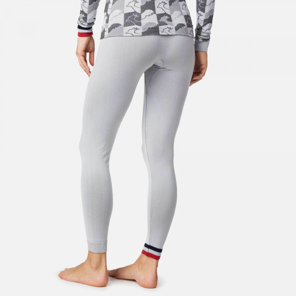 Pantaloni first layer dama Rossignol W DROITE UNDERWEAR TIGHT Light grey 4