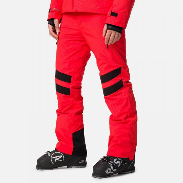 Pantaloni schi barbati Rossignol AERATION Crimson 0