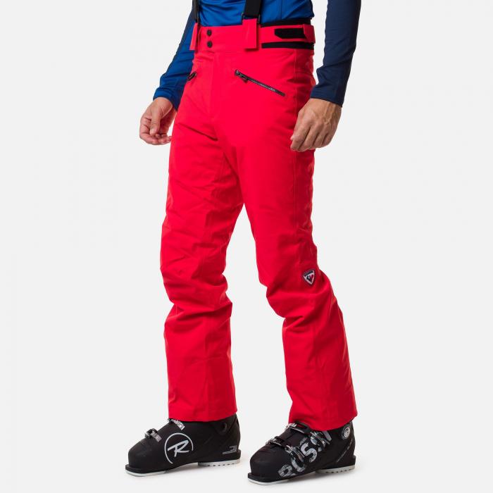 Pantaloni schi barbati Rossignol CLASSIQUE Neon red [0]